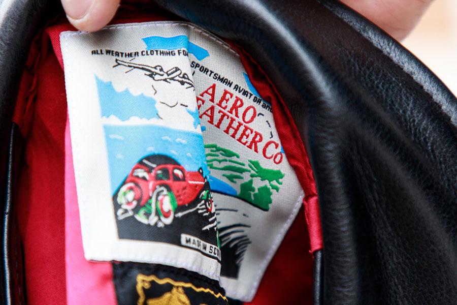 Aero Leather, The Rake