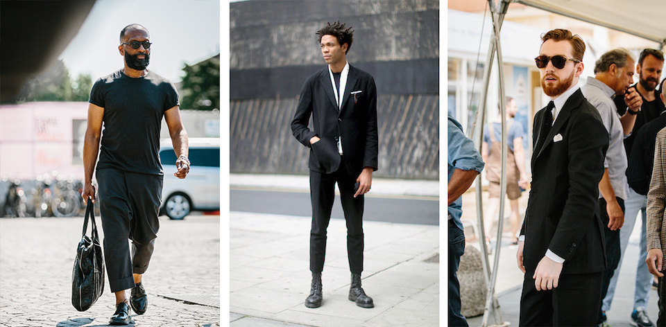 The Rake, How To Wear Black Street Style