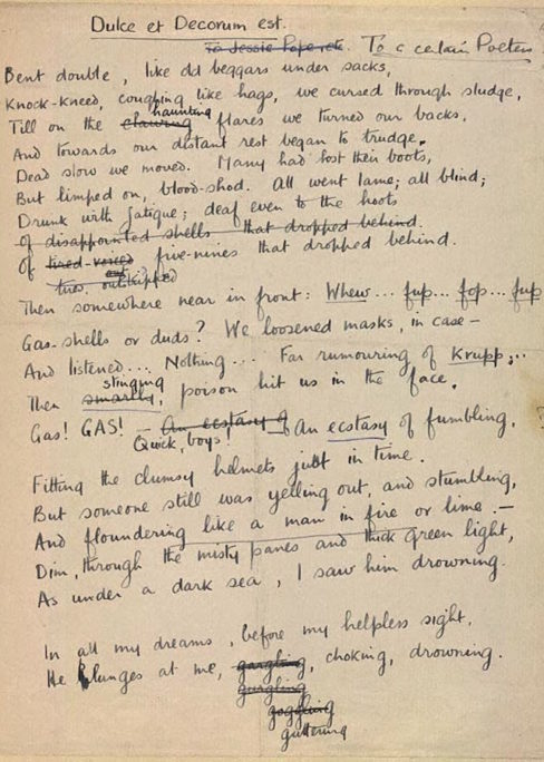 British War Poets By The Pen And The Sword The Rake