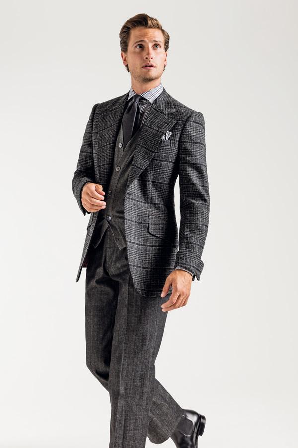 Grey Urban Tweed Slippers Huntsman A8wXdC