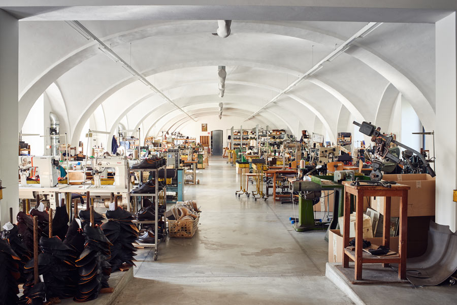 ludwig reiter, factory, leather, s