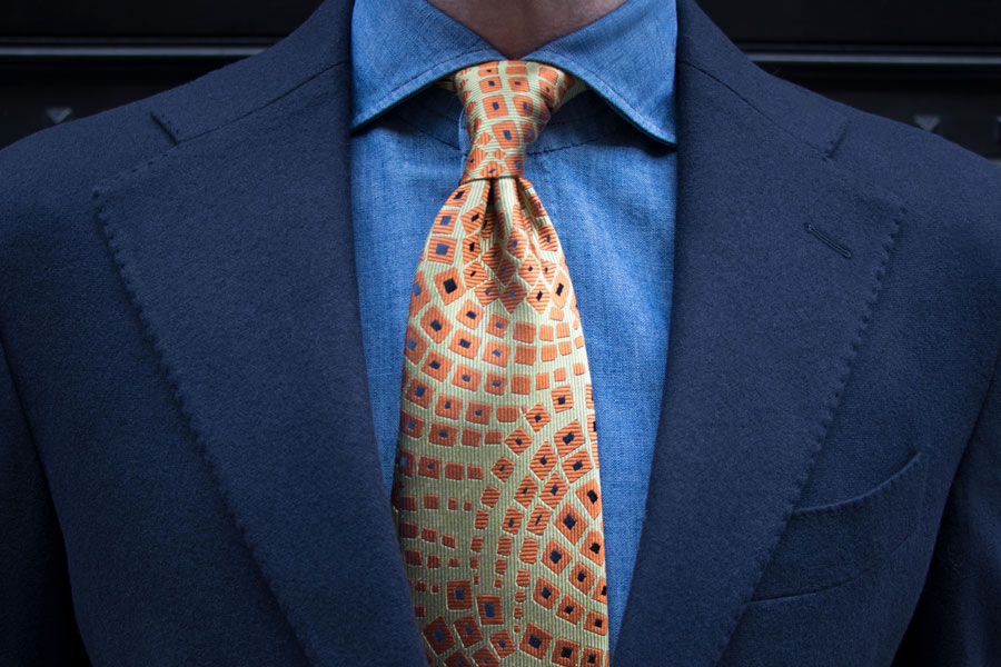 291beb172637 Charvet has produced a collection of ties made from archival silk fabric  exclusively for The Rake.