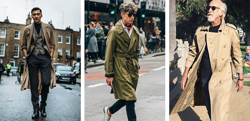 Trench Coat, Ways To Wear