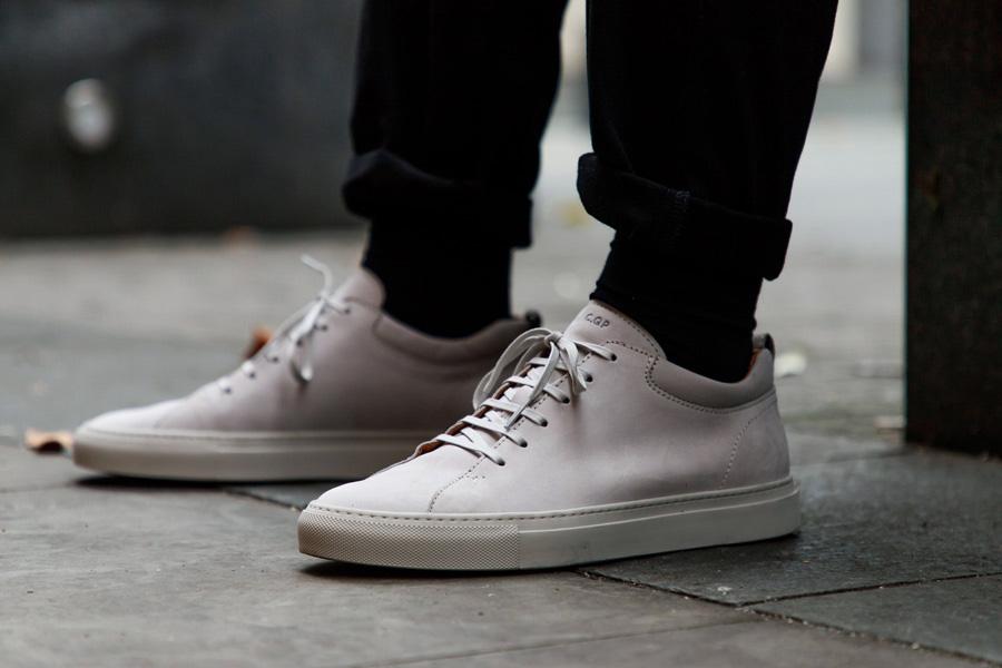 C.QP, The Rake, sneakers