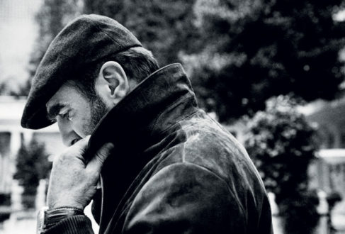 9beffccf2fae5 Eric Cantona wears a tweed flat cap by Lock   Co. in issue 46 of