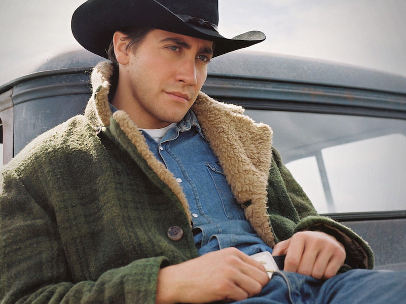 the rake, 5 ways to wear a denim shirt, brokeback mountain