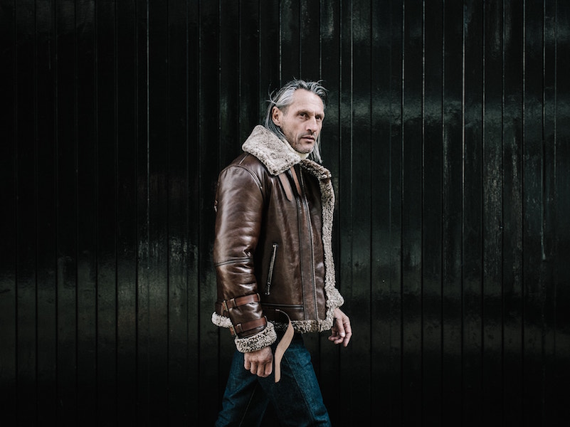 CROMFORD LEATHER DOUGLAS JACKET