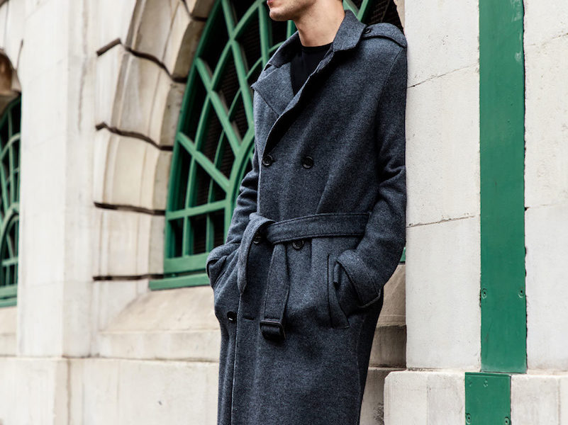 THE RAKE, FALKE KNITTED TRENCH