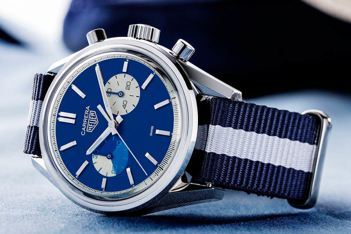 The TAG Heuer x The Rake & Revolution \'Blue Dreamer\' Carrera ...