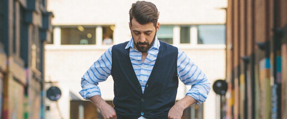 5 Ways to Wear Blue Stripes