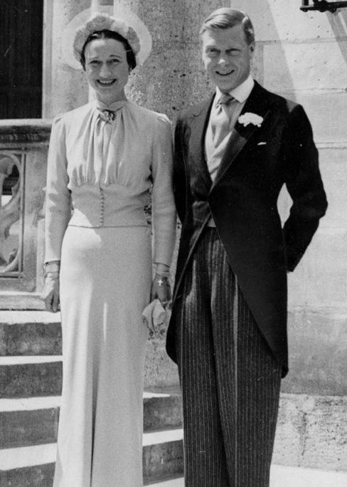 869de73ce Wallis Simpson and Edward VIII at their wedding, 1937.