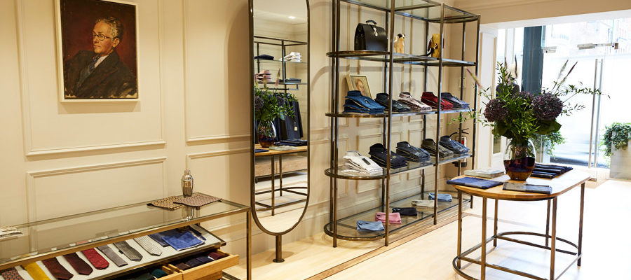 See the New Chester Barrie Savile Row Store
