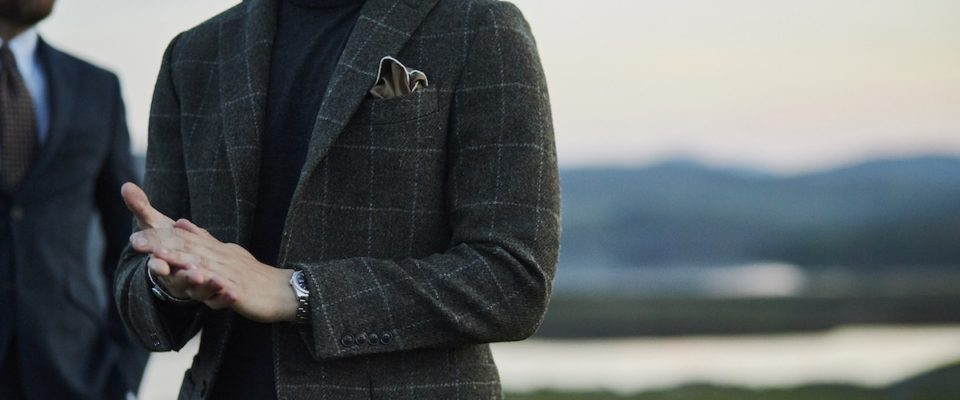 A Very Highland Fling: Walker Slater x Harris Tweed Hebrides