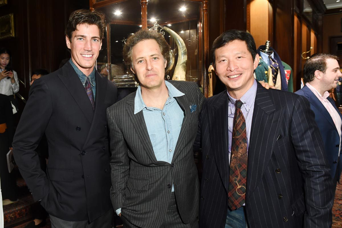 the rake s 10th and ralph lauren s 50th anniversary party in new