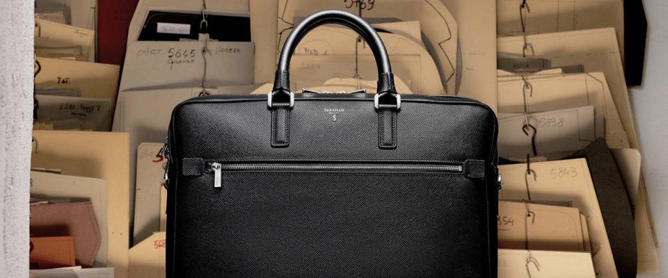 Serapian's Bags Mean Business